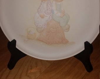 Love One Another Precious Moments Collectors Plate
