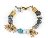 Sparkler Bracelet // Geometric Jewelry // Statement Bracelet // Arm Candy // Chunky Bracelet //