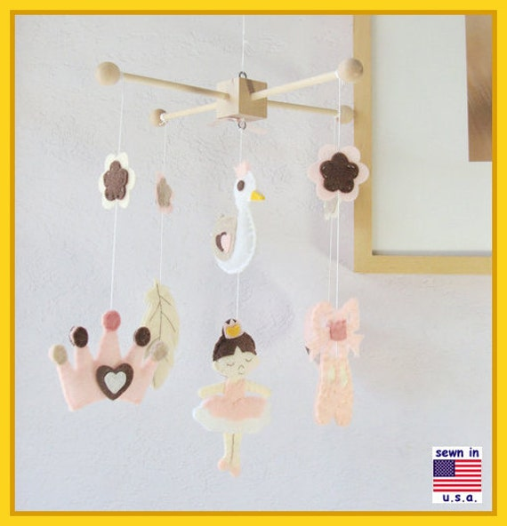 On Sale Baby Mobile Baby Crib Mobile Ballerina Mobile By