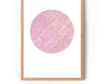 Coral spot Art Print (free Aus shipping)