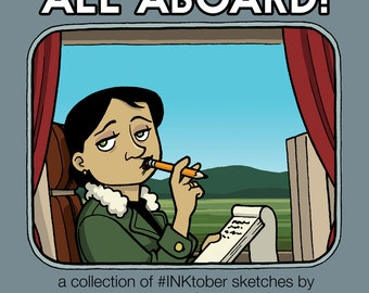 All Aboard - an INKtober sketchbook