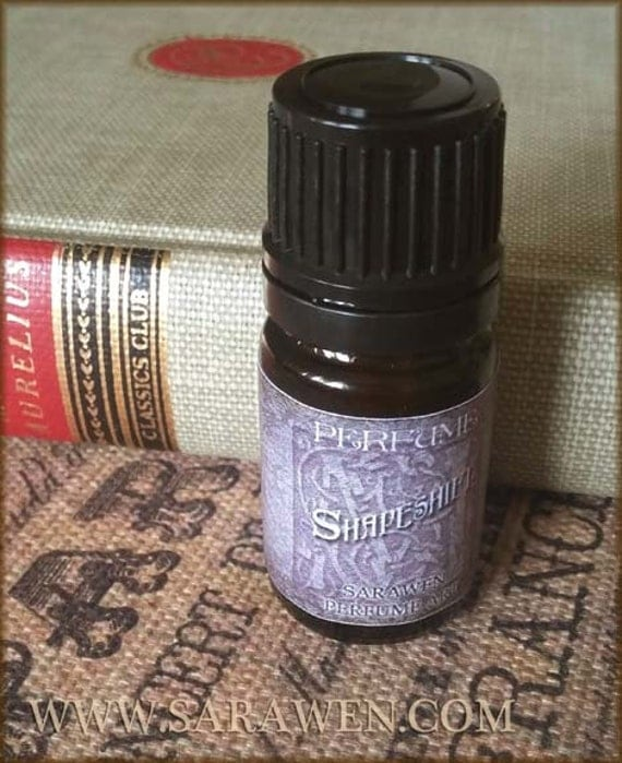 SHAPESHIFT Perfume oil / inspired by Dragon Age Perfume Cologne / Wild Woods and florals / Vegan Perfume