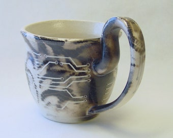 Digital Lace Mug 14oz 400ml