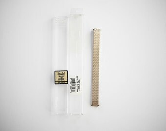Vintage Watchband new in Box Speidel Twist o Flex Replacement Made in USA Gold Tone