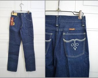 1980s NOS Girl's Wrangler Cotton Denim Jeans