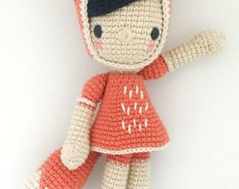 DIiega the fox - Crochet pattern/amigurumi