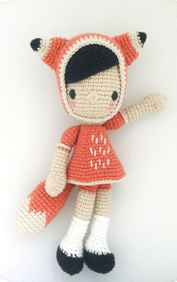 DIiega the fox Crochet pattern/amigurumi