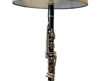 Clarinet Table Lamp