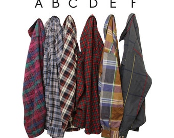 You Pick: Acrylic Flannels Size Large