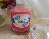 12 oz Soy Sweet Pea Container Candle
