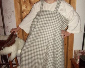 Plus Viking apron dresses in a choice of fabrics