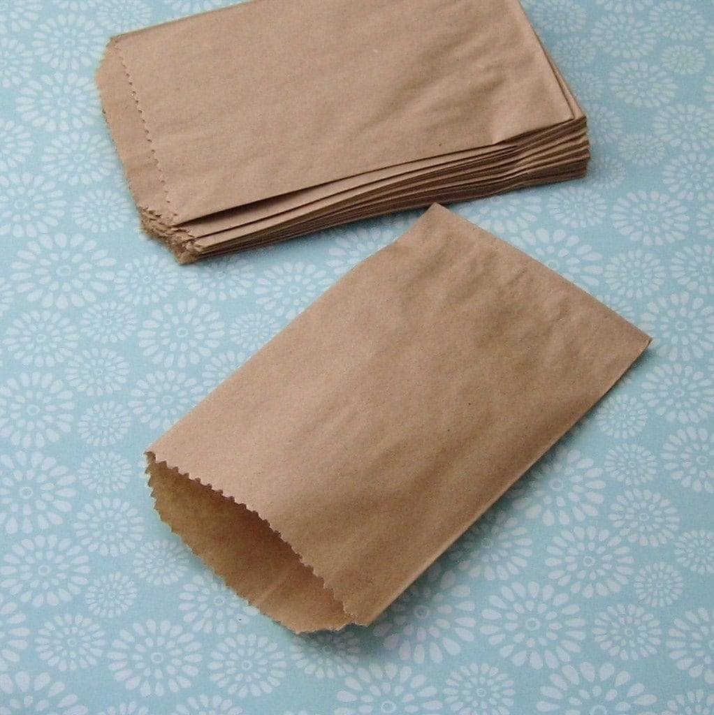 Where to buy brown paper bags with handles