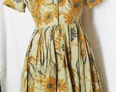 Westbury Fashion Shirt Dress Vintage 1950s