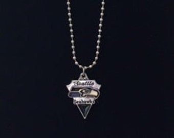 Football fan necklace