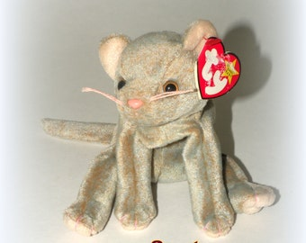 TY Beanie Baby W/ Tag ERROR- Scat the Cat- May 27 Top Birthday Gift Retired Top Selling Shops Best Sellers