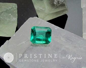 Emerald Fine Brazilian Gemstone 1.99cts May Birthstone Loose Gemstone for Engagement or Wedding Anniversary Ring