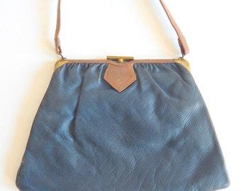 Vintage 1930s Leather Handbag