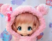 White&Pink Bear ~ for KikiPop // KinokoJuice