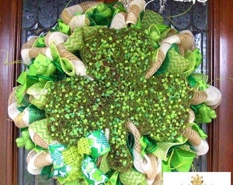 Moss Clover St. Patrick's Day Wreath
