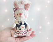 Teddy Rabbit in Sweater - 5inches