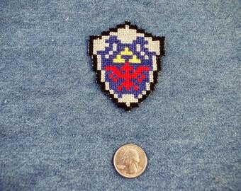 Legend of Zelda Hylian Shield Iron On Patch