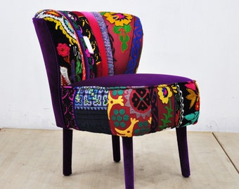 50's Clubchair - purple love