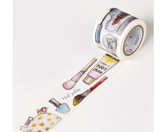 Cosmetic Makeup Washi Tape (30mm X 7M)