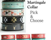 Martingale Dog Collar in your choice of ribbon