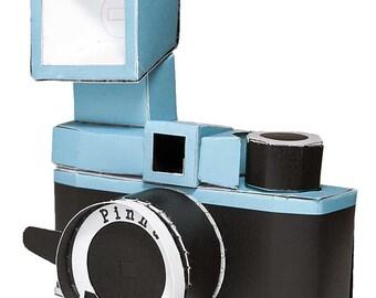 Pinha paper camera diy