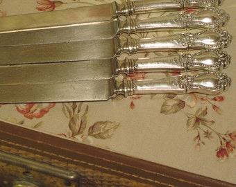 "Antique Sterling Knives ""Jefferson"" By Watson"