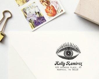 Seeing Eye Address Stamp