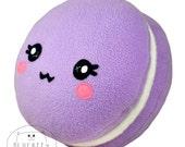 Macaron plushie / kawaii sweet pillow
