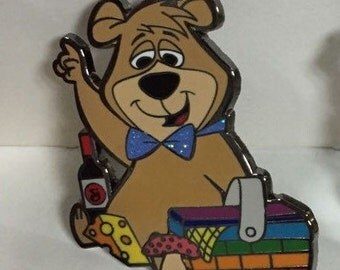 Boo Boo's Pik-a-nik String Cheese Incident Hat Pin