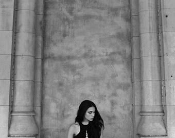 CATHEDRAL MINI DRESS - womens bottoms - tank dress - printed dress