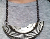 Typewriter Carriage Necklace