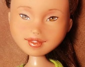 33% OFF SALE Pendragon Doll # 24 - Gracie - Repainted rescued OOAK doll
