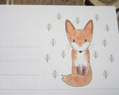 letter paper / Winter Fox