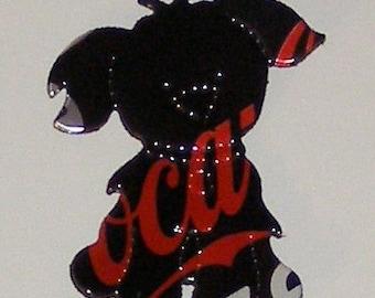 Cutie-Pup - Dog Magnet - Coca-Cola Coke Zero Can (Replica)