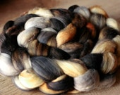 "Fiber Roving 5 oz - 100% SW Merino - Autocorrect - ""Humans and Low Salt Tortilla Chips"""