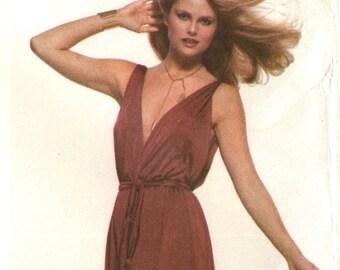 Stan Herman disco evening dress pattern -- Very Easy Vogue American Designer 1774