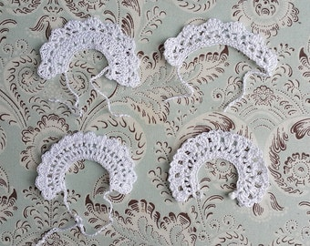 Crochet collars for Blythe and other dolls
