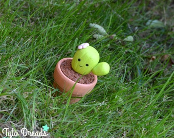 Cactus Friend Figurine