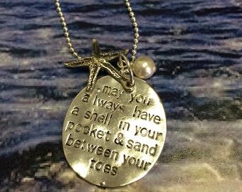 Beach Charm Necklace