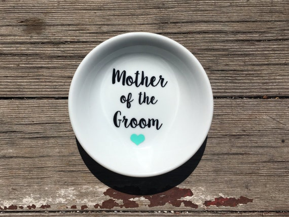 Ring Dish | Mother of the Groom | Wedding | Ring Holder |  Gift | Bridal Favor