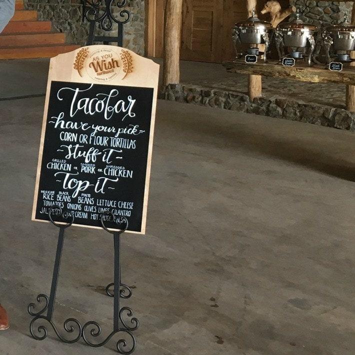 large chalkboard sign for weddings wedding chalkboards