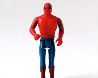 Mego SPIDER-MAN action figure, 1975 Comic Action Heroes, Spidey, Marvel Comics