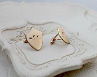 Wedding Personalized Cufflinks - Hand Stamped Cufflinks - Monogram Cufflinks for Dad - Handstamped Cufflinks - Custom Cufflinks