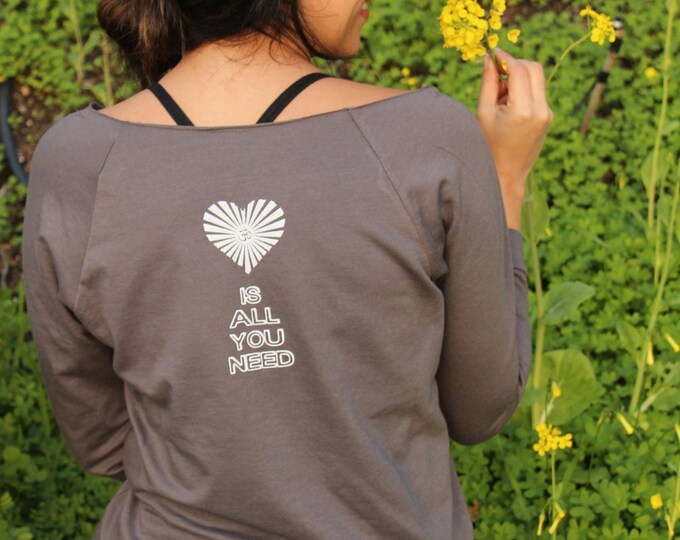 All You Need is LOVE - Short or Long Sleeve Raglan