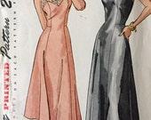"Vintage 1940s Simplicity Misses' Slip Pattern 2253 Size 16 1/2 (35"" Bust)"