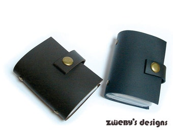 Personalized Card Case, Leather Business Card Wallet, Business Card Holder